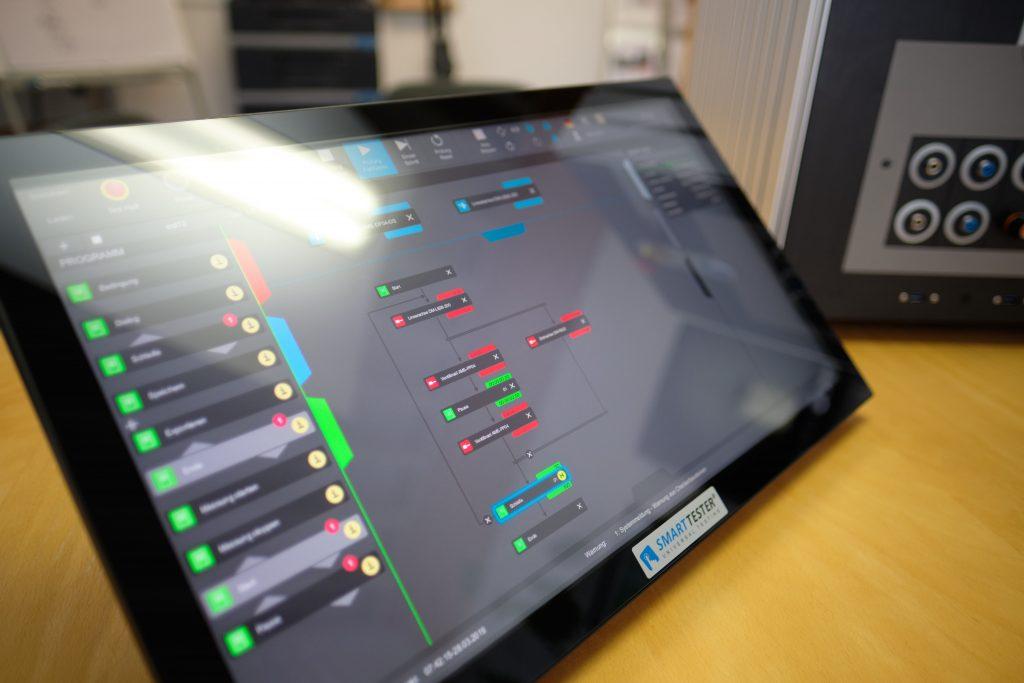 Moderne Software in der Prüftechnik - SMARTTESTER®