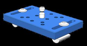P13001-20440-00 Base Plate 100