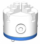 P13001-20940-00 Clamp System - FM-CS-RD80-4