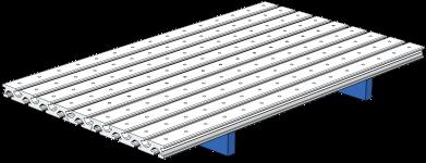 P13001-21410-00 Vormontierte Platte 600x352